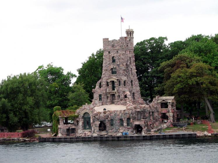 World Travel Photos :: Interesting unusual buildings :: 1000 Islands. Boldt Castle