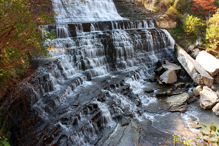 World Travel Photos :: Waterfalls :: Ontario. Hamilton. Albion Falls