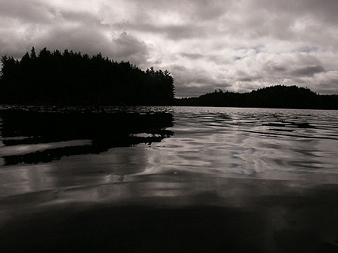 Canada Ontario Photos :: Algonquin Park :: Evening on the Lake in Algonquin Park