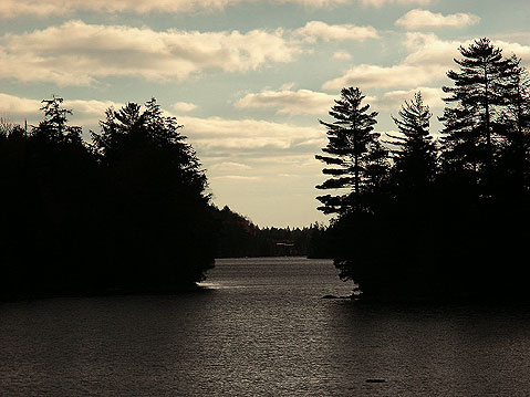 Canada Ontario Photos :: RomKri :: One of the Lakes in Algonquin Park