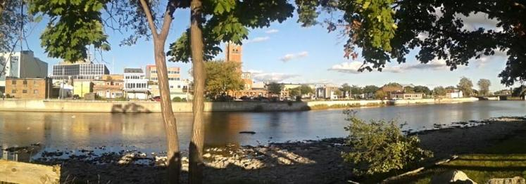 Canada Ontario Photos :: THERESA :: Belleville. Panoramic Downtown view