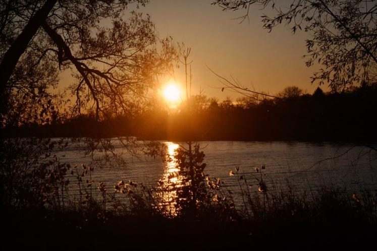 Canada Ontario Photos :: Belleville :: Belleville. Zwicks Park Sunset