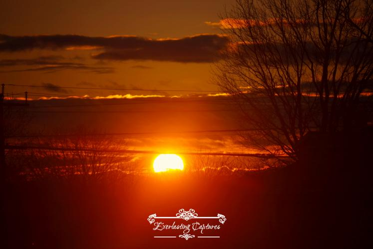 Canada Ontario Photos :: Belleville :: Sunset GORGEOUS RED SKIES