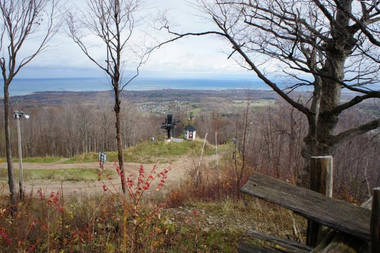 Canada Ontario Photos :: Fall :: Top of Blue Mountain in the Fall
