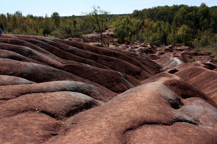 Canada Ontario Photos :: Landmarks :: Caledon Badlands