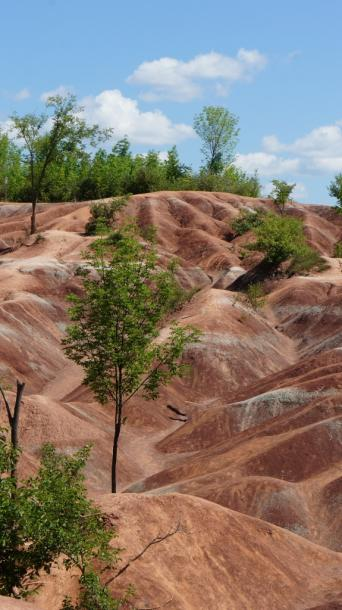 Canada Ontario Photos :: Caledon - Cheltenham Badlands :: Cheltenham Badlands