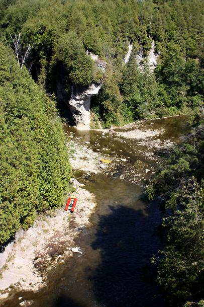 World Travel Photos :: Landscapes :: Ontario. Beautiful Elora Gorge