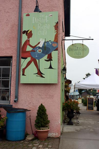 Canada Ontario Photos :: Elora :: Ontario. Elora -The Desert Rose Cafe