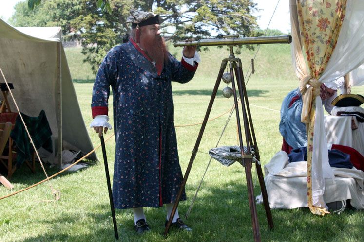 Canada Ontario Photos :: Fort Erie :: Fort Erie. Before the mock battle