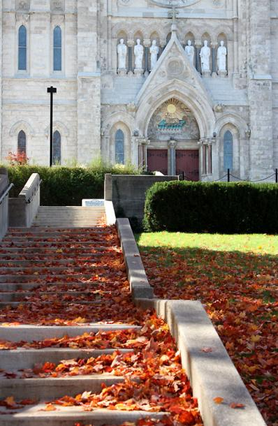 Canada Ontario Photos :: Guelph :: Guelph. Stairs leading to the Church of Our Lady Immaculate