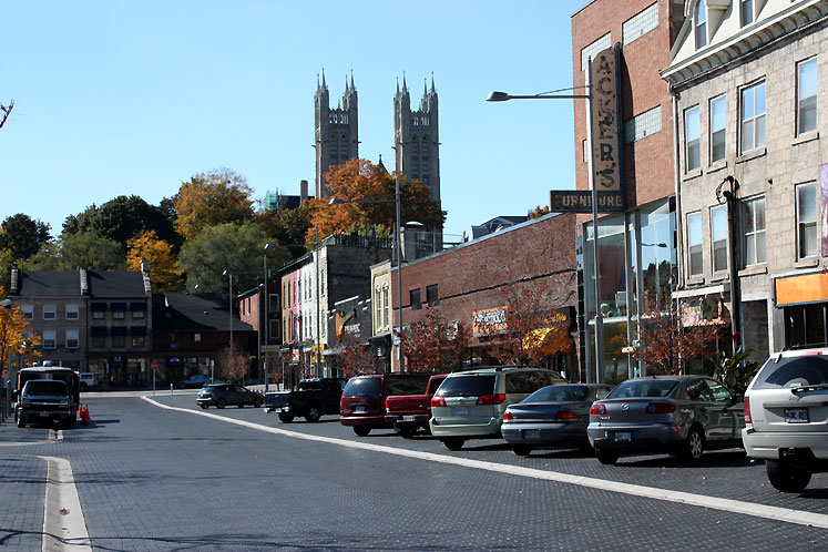 Canada Ontario Photos :: Guelph :: Guelph - a quiet city centre