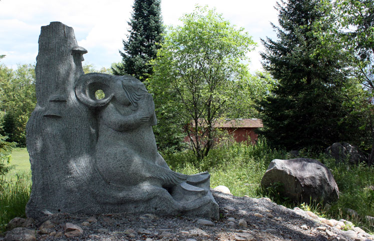 Canada Ontario Photos :: Haliburton :: Haliburton - Sculpture forest