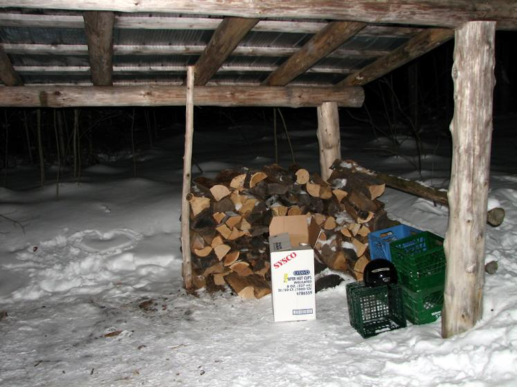 Canada Ontario Photos :: Horseshoe ski resort :: Ontario. Horseshoe ski resort - firewood