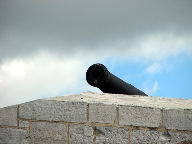 Canada Ontario Photos :: Kingston - Fort Henry :: Kingston. Canon in Fort Henry