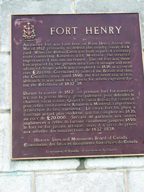 Canada Ontario Photos :: Kingston - Fort Henry