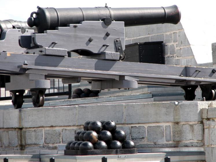 World Travel Photos :: Military Theme :: Kingston. Fort Henry