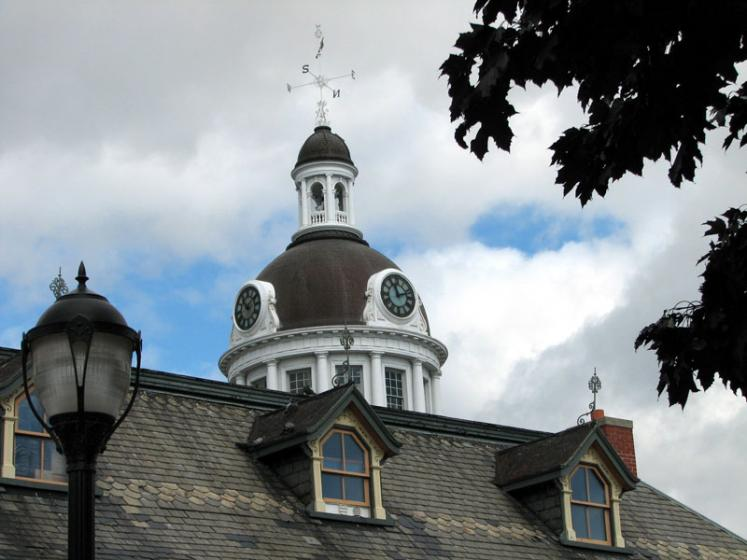 Canada Ontario Photos :: Kingston :: Kingston. City Hall Roof