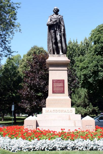 Canada Ontario Photos :: Kingston :: Kingston. John A. Macdonald