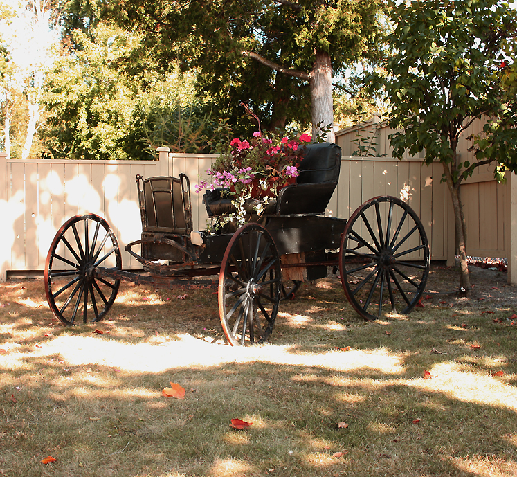 Canada Ontario Photos :: Kleinburg :: Kleinburg. An old carriage