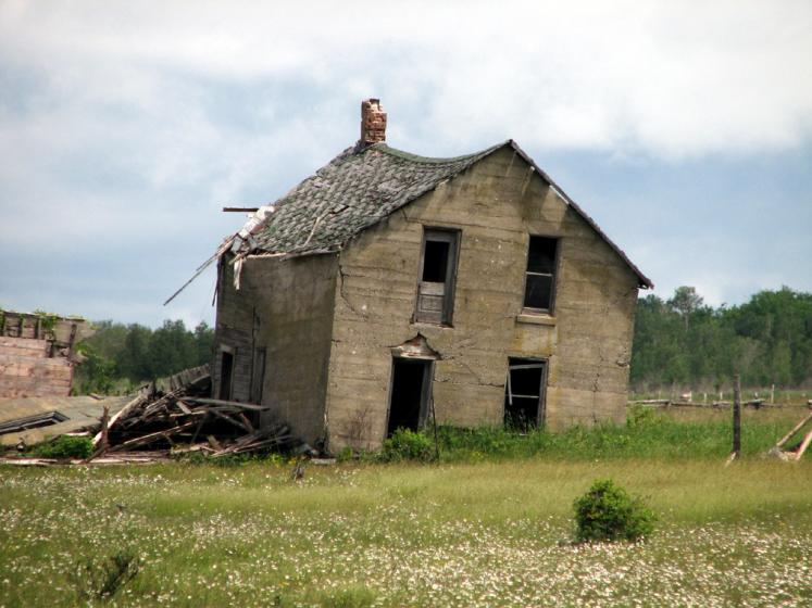 World Travel Photos :: Countryside :: Manitoulin Island. Deserted house