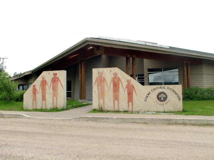 Canada Ontario Photos :: Landmarks :: Manitoulin Island. M´Chigeeng First Nation