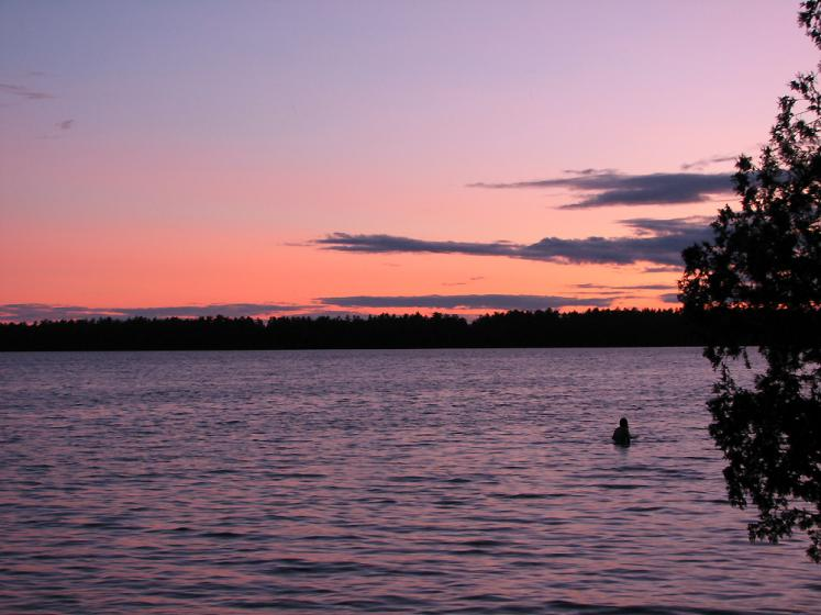 Canada Ontario Photos :: Nature :: Manitoulin Island. Sunset