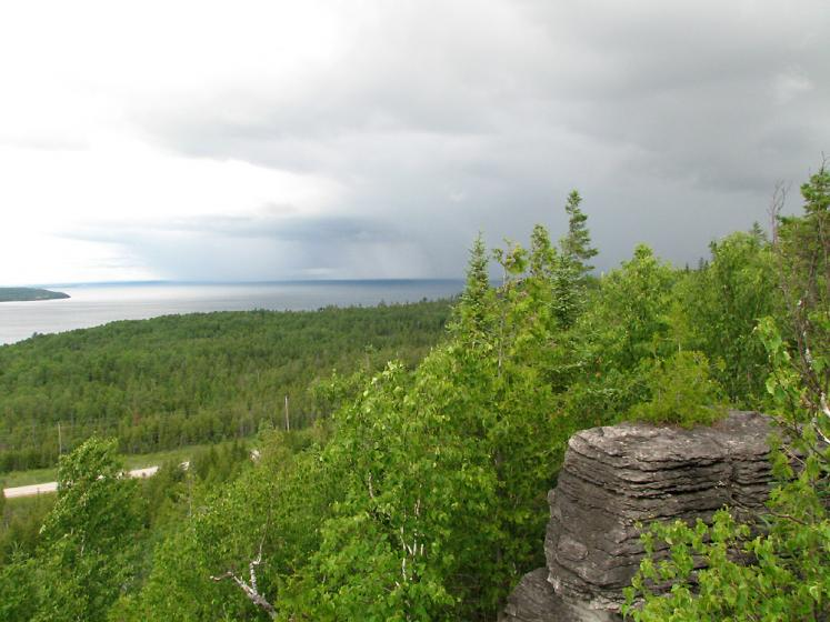 Canada Ontario Photos :: Manitoulin Island :: Manioutlin Island. A view from