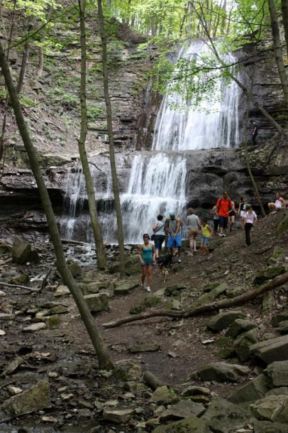 Canada Ontario Photos :: Misc :: Dundas Valley Trail - Sherman Falls