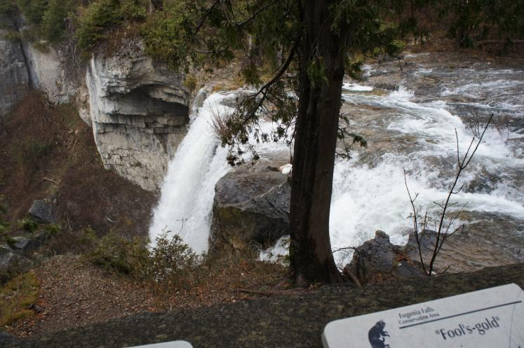 Canada Ontario Photos :: Misc :: Eugenia Falls 90ft.Height over Beaver River