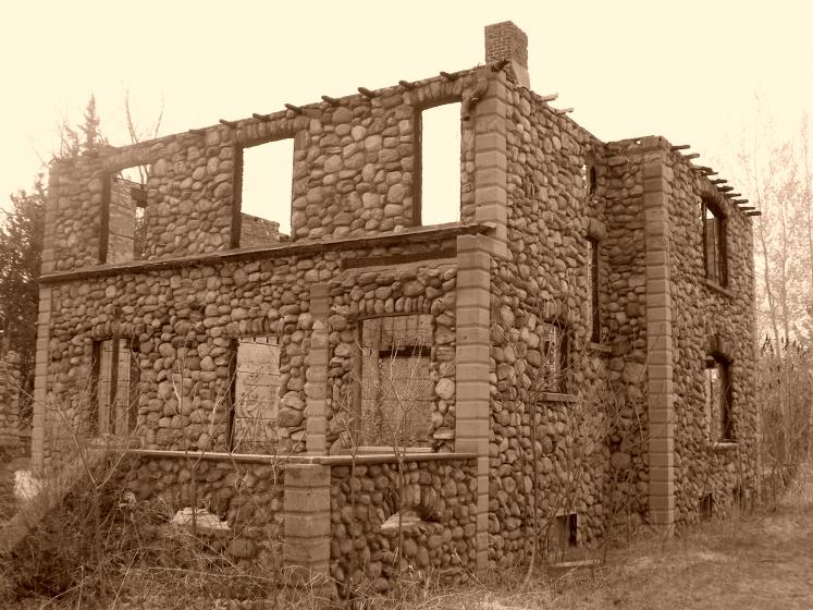 Canada Ontario Photos :: Clay :: Ontario. Granite Castle, Orillia area