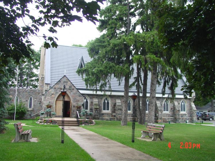Canada Ontario Photos :: Misc :: Historic Anglican Christ Church built 1876 in Meaford