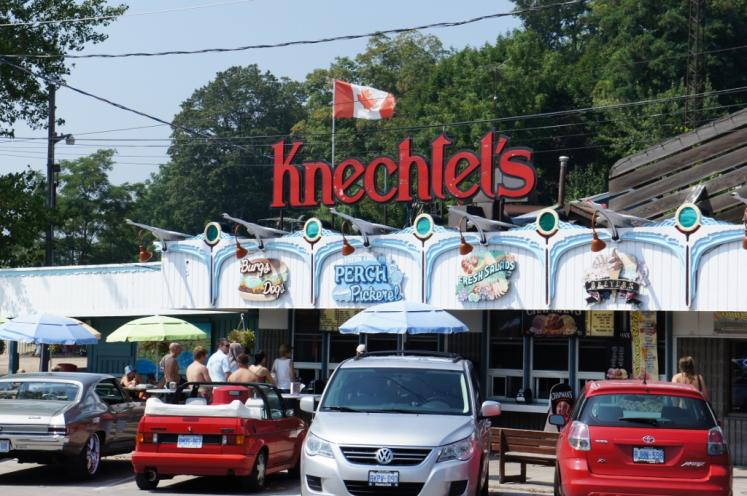 Canada Ontario Photos :: Misc :: Knechtel´s Fish Place Port Dover