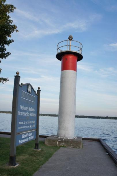 Canada Ontario Photos :: Misc :: Lighthouse Harbour Front Park Brockville