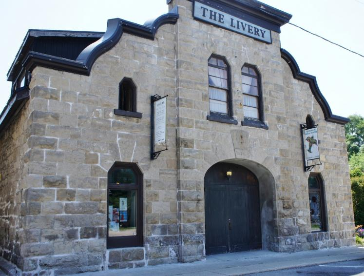 Canada Ontario Photos :: Goderich :: The Livery 1878 Goderich Little Theatre, Celtic Festival and Gairbraid Theatre