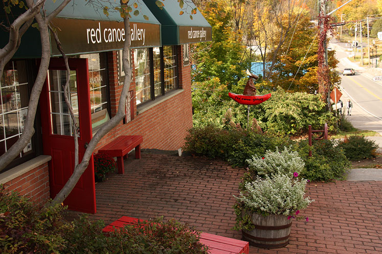 Canada Ontario Photos :: Misc :: Muskoka. Port Carling - art gallery