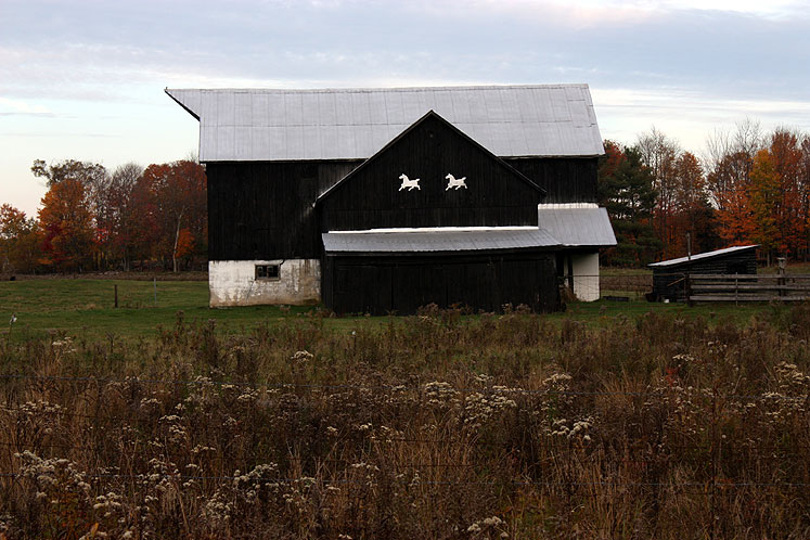 Canada Ontario Photos :: Misc :: Muskoka - an old horse stable