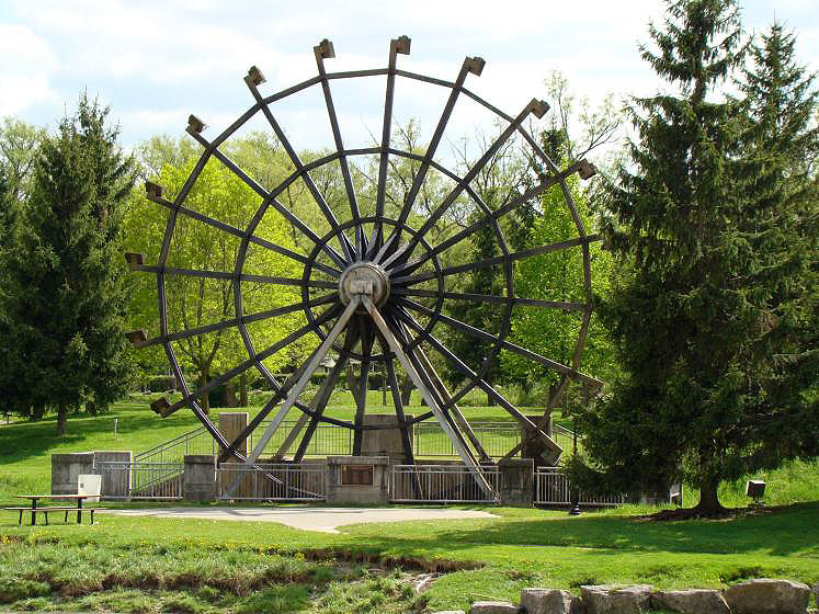 Canada Ontario Photos :: New Hamburg :: New Hamburg Waterwheel