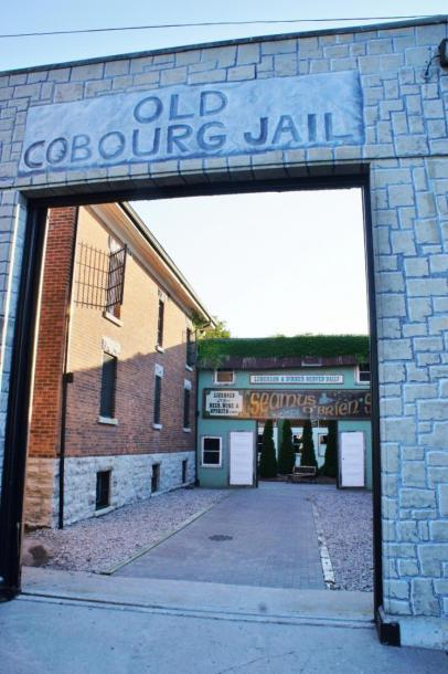 Canada Ontario Photos :: Cobourg :: Old Cobourg Jail closed in 1998 converted into 20+room King George Inn and Hotel
