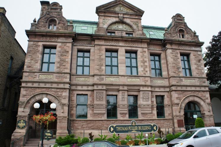 Canada Ontario Photos :: Misc :: Historic Thomas Fuller Building 1884 downtown Brockville