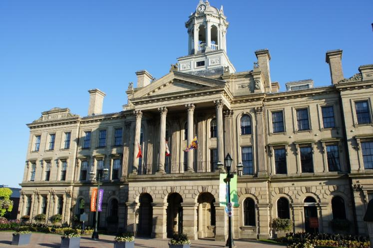 Canada Ontario Photos :: Cobourg :: Victoria Hall Cobourg & District Chamber of Commerce built 1856