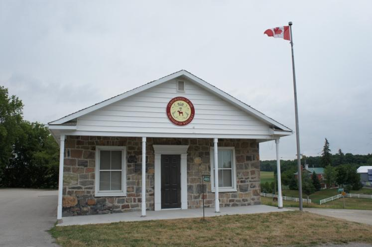 Canada Ontario Photos :: Misc :: Wellesley Township Heritage Landmark 1855 located in Crosshill