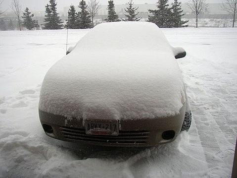 Canada Ontario Photos :: Lenish :: Ontario. Winter in Vaughan