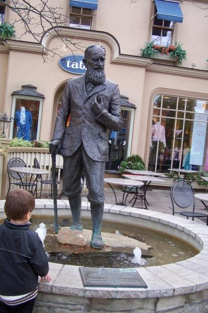 Canada Ontario Photos :: Валентина :: Ontario. Niagara-on-the-Lake - Bernard Shaw monument