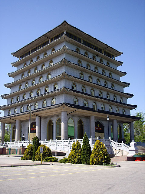 Canada Ontario Photos :: Landmarks :: Buddist Temple on Niagara Falls