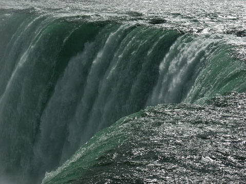 World Travel Photos :: Waterfalls :: Mighty Streem of Niagara Falls