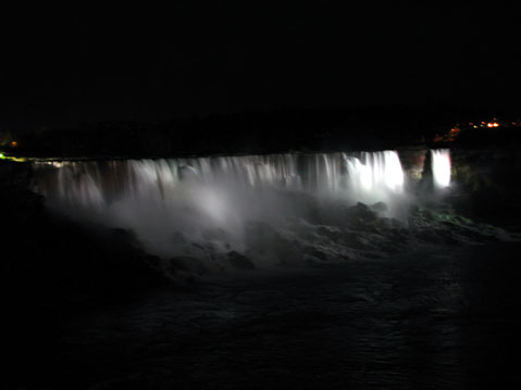 Canada Ontario Photos :: Night views :: Niagara Falls