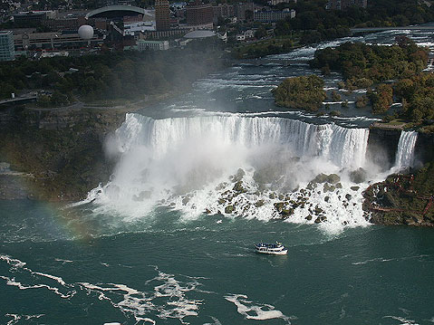 Canada Ontario Photos :: Maid of the Mist :: Niagara Falls. American Falls