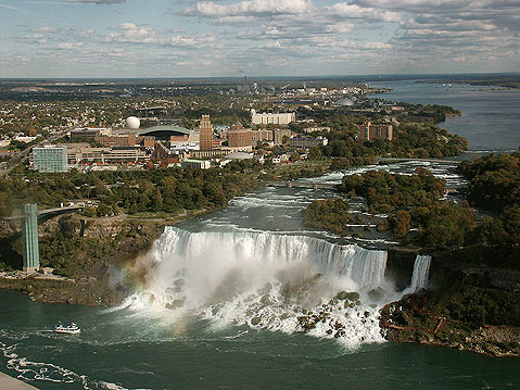 Canada Ontario Photos :: Panoramic views :: Niagara Falls. American Falls