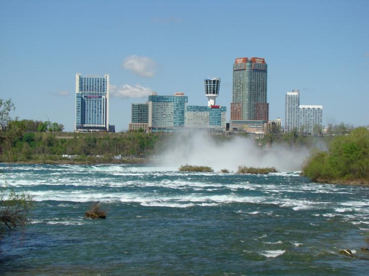 Canada Ontario Photos :: City views :: Niagara Falls Skyline
