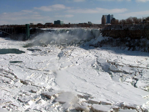 Canada Ontario Photos :: Winter :: Niagara Falls. Winter 2008